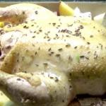 Fenchel-Pastis-Hühnchen