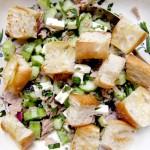 Sommersalat mit Thunfisch und Feta