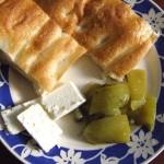 Eingelegte grüne Paprika mit Kapern und Sherry