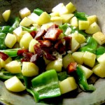 Kartoffel-Tortilla mit Paprika und Chorizo