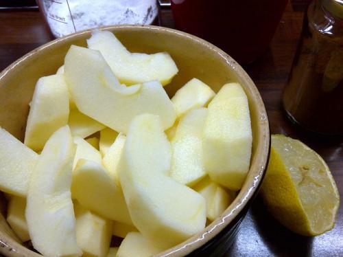 Apfelstuecke_Zitrone_Zimt