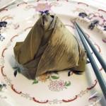 Zongzi – Bambusblätter mit Klebreisfüllung