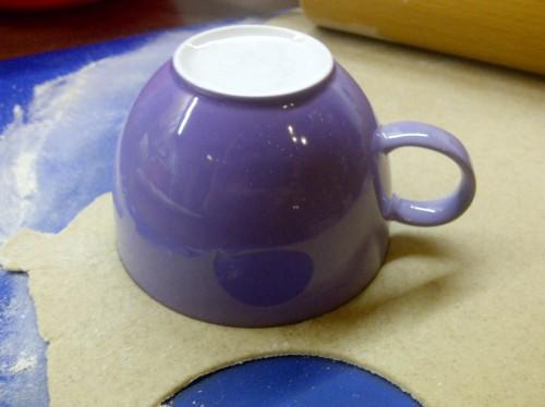 Tasse zum Ausschneiden
