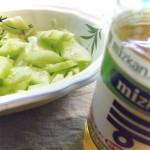 asiatischer 5-Minuten-Gurkensalat