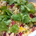 Europe meets Africa: Couscous-Salat