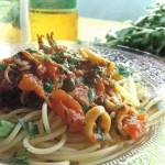 Una bella spaghettata! Pasta ai Calamari