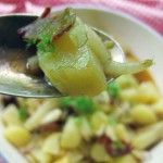 Kartoffelsalat mit Chorizo und Fenchel