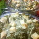 Überbackenes Romanesco-Fenchel-Gemüse