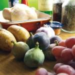 Huhn im Herbst – mit Feigen, Trauben & Honig