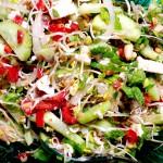 Sprossen-Salat aus Bockshornklee