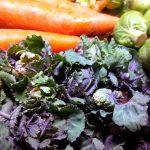 Rosenkohl mit Flower Sprouts-Gemüse – Oriental Style